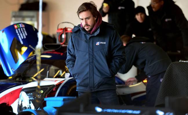 El equipo de Alonso, sexto en la sesión 1 del test de Daytona