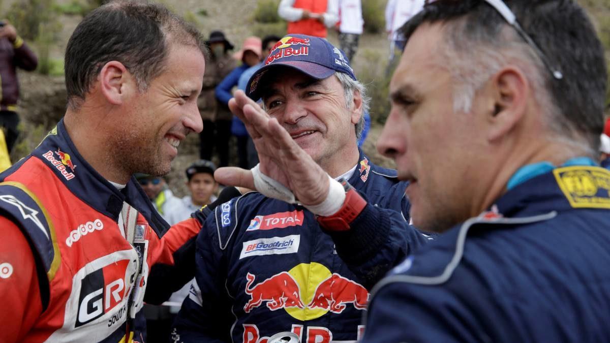 Peugeot centra sus esfuerzos en defender el liderato de Sainz