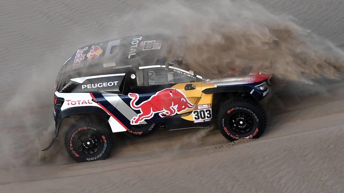Peugeot quiere a Sainz líder pero no descarta a Peterhansel