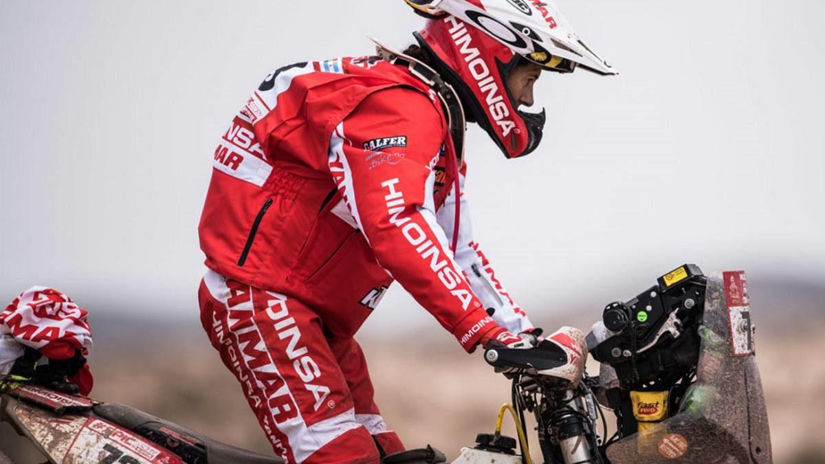 Rosa Romero abandona el Dakar por una herida peligrosa