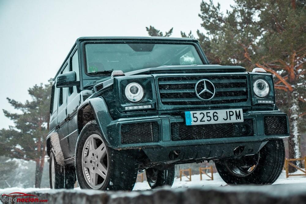 Prueba mercedes benz g 350 d el coche que deber as for Mercedes benz g 350