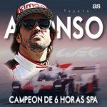 Alonso vuelve a ganar
