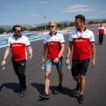 Ericsson terminó los libres con el Sauber en llamas
