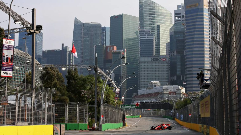 Circuito F1 Singapur : F gp de singapur en marina bay tv horario y dónde ver online