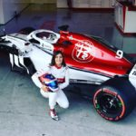 Tatiana Calderón debutó con el Alfa Romeo Sauber de F1