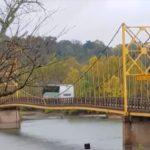 [Vídeo] ¡Parece de chicle!: Esto es lo que pasa cuando circulamos por un puente sin respetar la MMA