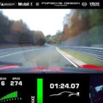 [Vídeo] Así se ve la vuelta récord a Nürburgring desde el interior del Porsche 911 GT2 RS MR
