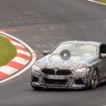El futuro BMW M8 ya se pasea en vídeo por Nürburgring Nordschleife, aún camuflado