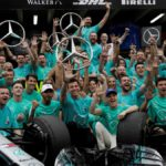 Hamilton cumplió 34 años en números de Schumacher