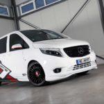 La Mercedes-Benz Vito más pintona es obra de Vansports: Más caballos y un toque de agresividad