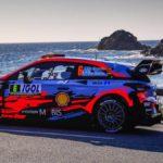 Dani Sordo a las puertas del podio en el Rally de Córcega