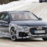 El nuevo Audi RS4 Avant echa a andar