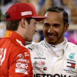 Hamilton jugó con Vettel