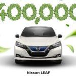 Nissan Leaf. Ya se han fabricado 400.000