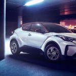 Así es la versión 100% eléctrica del Toyota C-HR