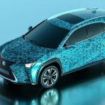 Este es el Lexus UX ganador del concurso Art Car 2019