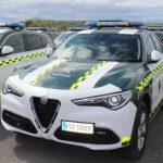 La Guardia Civil renueva su flota con el Alfa Romeo Stelvio