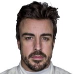 McLaren sacó a Fernando Alonso a pista con la rueda pinchada