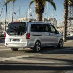 Nuevas imágenes al natural del Mercedes-Benz EQV Concept: La Clase V 100% eléctrica debutará en septiembre