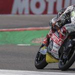En directo Moto3: 20 pilotos luchan en el grupo de cabeza
