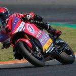 Héctor Garzó, el más rápido en el primer test oficial de MotoE