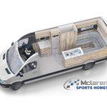 Lo último de Mclaren es esta deportiva Mercedes-Benz Sprinter camperizada