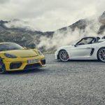 """Porsche 718 Cayman GT4: 420 CV para el """"mini"""" GT3 de motor central, atmosférico y manual"""