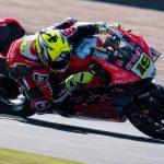 Bautista sufre con la Ducati