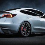 Lo último de Vorsteiner es este salvaje Tesla Model 3 rico en fibra de carbono