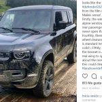 Así luce el nuevo Land Rover Defender 2020: Cazado en el rodaje de Bond