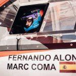 Coma será el copiloto de Alonso en su camino al Dakar