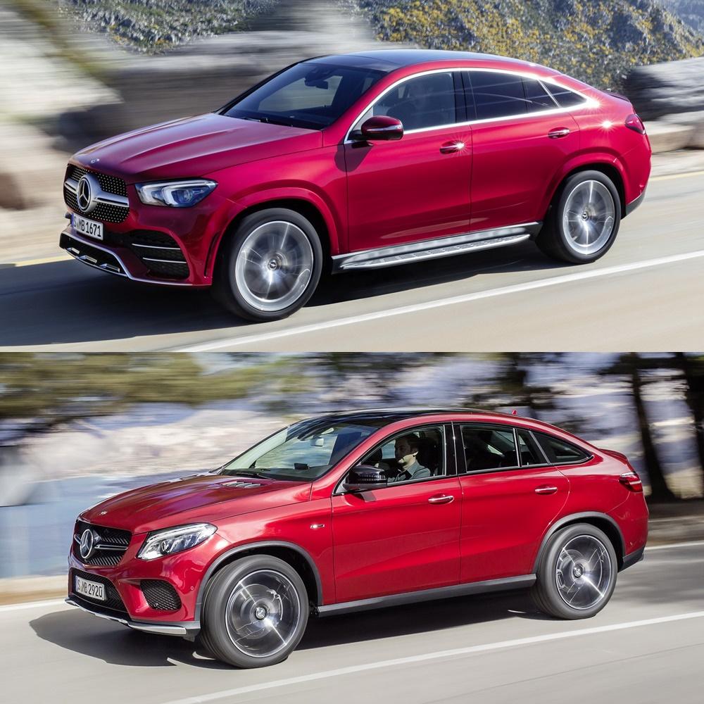 Comparación Visual Mercedes-Benz GLE Coupé 2019: Juzga Tú