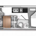 Ford Big Nugget Camper: Altas dosis de espacio sobre la base del Ford Transit