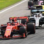 Leclerc frena a los Mercedes y Ferrari al fin gana en Monza
