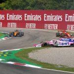 Vettel la lía en Monza