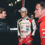 Alonso hace un guiño a los rallys