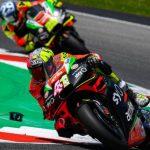 Iannone 'raja' contra Aprilia y se queja de la moto de Aleix