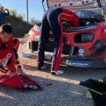 La mujer de Ogier incendia las redes criticando a Citroën