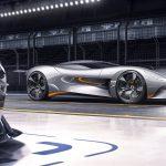 Vision Gran Turismo Coupé. El primer deportivo virtual eléctrico de Jaguar