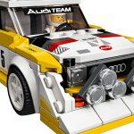Así es el Audi Sport quattro S1 de 1985 que LEGO ha creado para gente como tú