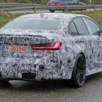 BMW M3 2020. Camuflado haciendo pruebas