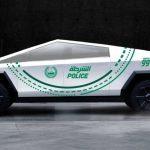 El Tesla Cybertruck se unirá a la flota policial de Dubai