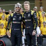 La broma de despedida del equipo Renault a Hulkenberg