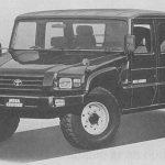 ¿Conocías de la existencia del Toyota Mega Cruiser?: Así era el «Hummer» japonés