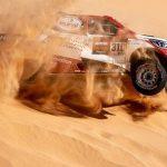 Este es el vídeo del espectacular accidente de Fernando Alonso que casi le cuesta el Dakar en la décima etapa