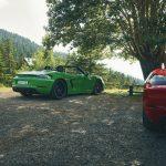Porsche 718 Cayman GTS y 718 Boxster GTS. Más puros