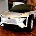 Subaru anticipa el crossover eléctrico que está desarrollando junto a Toyota