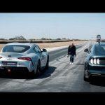 [Vídeo] Ford Mustang Bullit vs. Toyota GR Supra: ¿Apostamos por los yankees o por los japos?