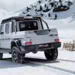 El Brabus 800 Adventure XLP es el Mercedes Clase G pick-up de tus sueños