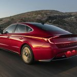 Hyundai Sonata Hybrid. Con un toque muy eficiente